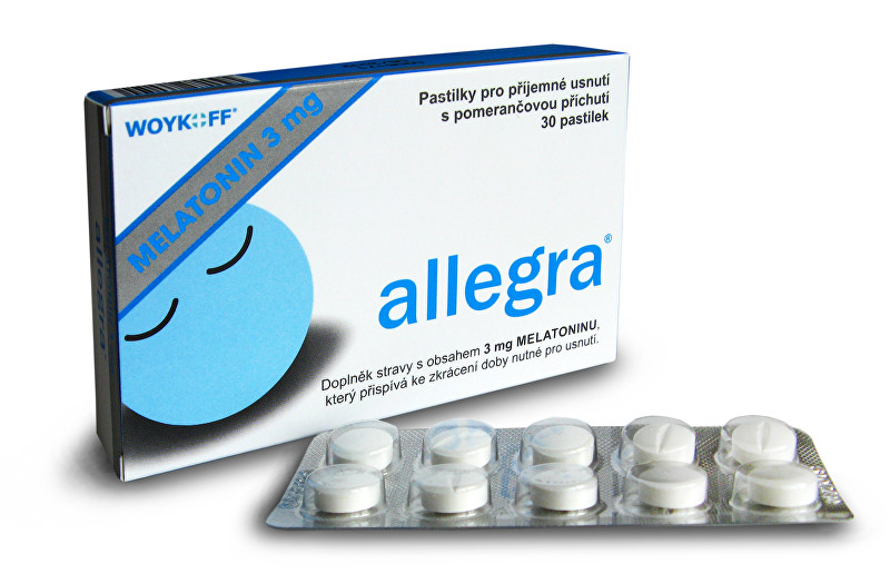 Melatonin Allegra 3 mg 30 pastilek