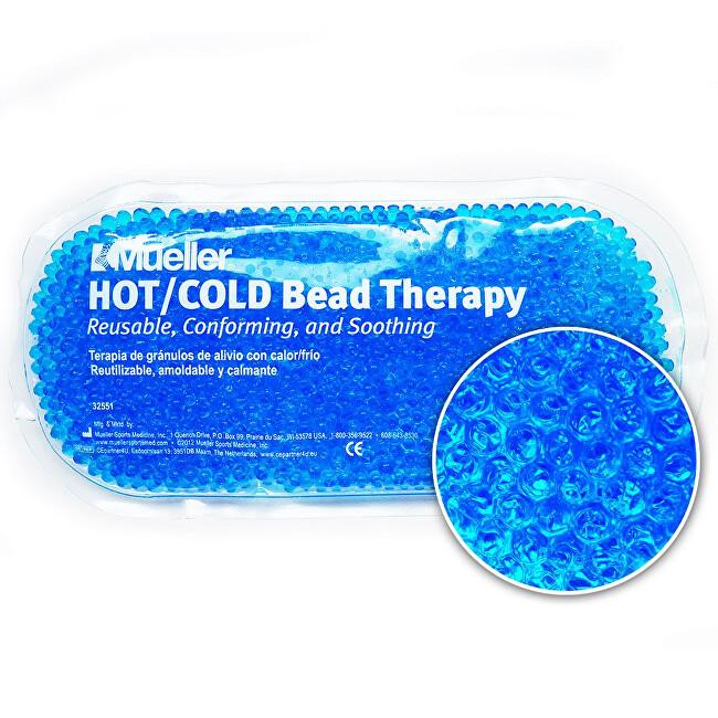 Mueller Mueller Hot/Cold Bead - Chladivý/hřejivý sáček s gelovými kuličkami Modrý