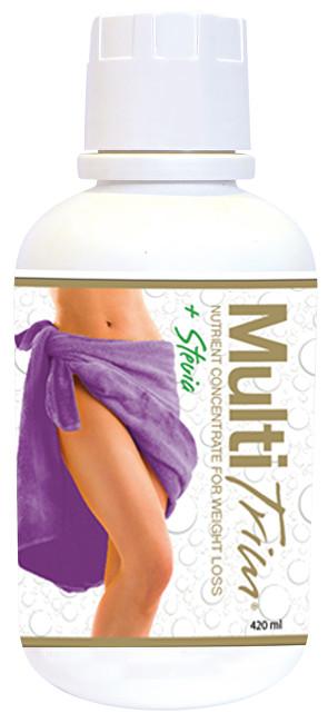 Multitrim Liquid GOLD se stévií 420 ml