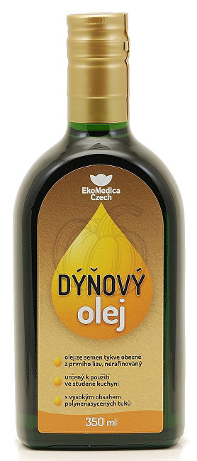 Zobrazit detail výrobku EkoMedica Czech Dýňový olej 350 ml