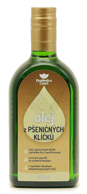 Zobrazit detail výrobku EkoMedica Czech Olej z pšeničných klíčků 350 ml
