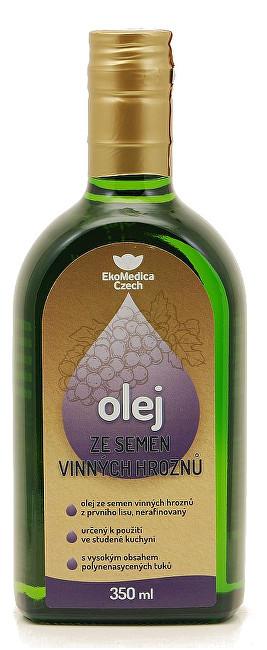 EkoMedica Czech Olej ze semen vinných hroznů 350 ml