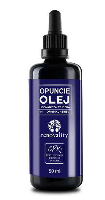 Renovality Opuncie olej za studena lisovaný s pipetkou Renovality 50 ml