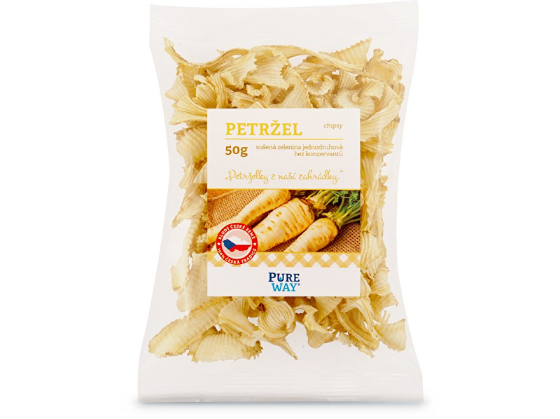 Pure Way Petržlen - chipsy 50g