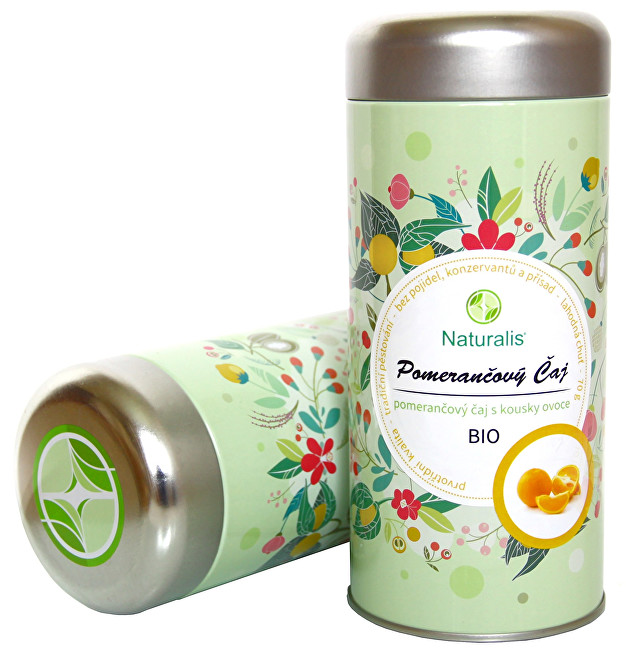Zobrazit detail výrobku Naturalis Pomerančový čaj Naturalis BIO 70 g