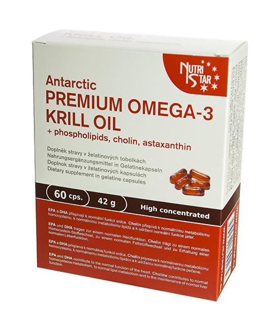 Zobrazit detail výrobku Nutristar Premium Omega 3 Krill Oil 60 kapslí
