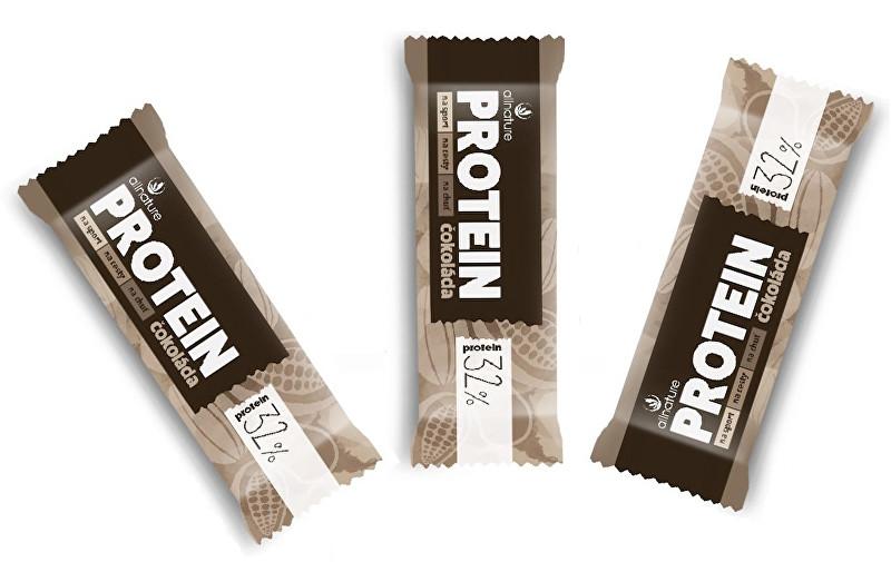 Zobrazit detail výrobku Allnature Proteinová tyčinka 32 % čokoládová 3x35 g