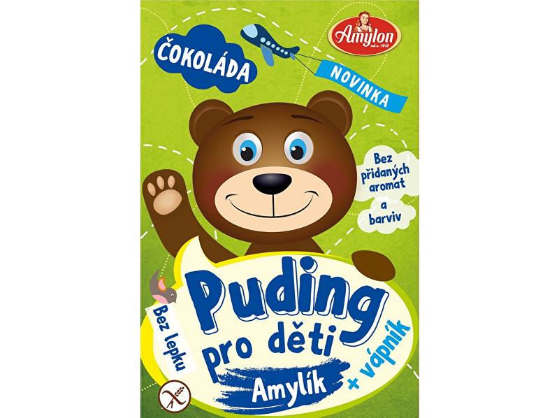 Zobrazit detail výrobku Amylon Puding čokoládový pro děti Amylon 40g - bez lepku