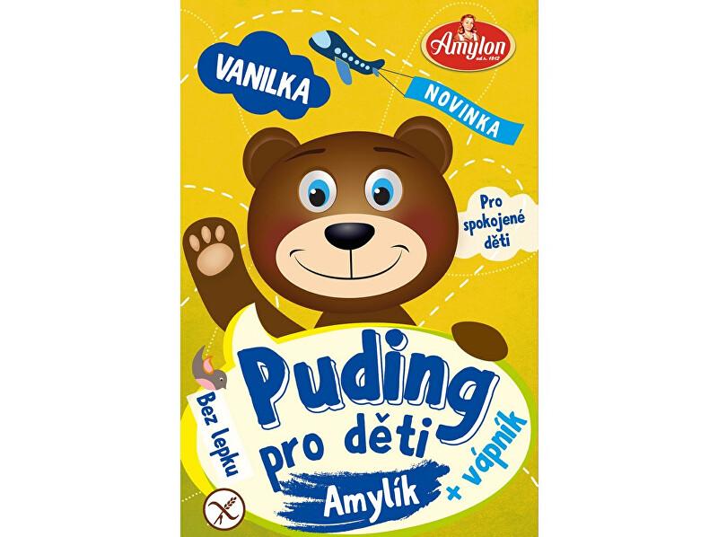 Zobrazit detail výrobku Amylon Puding vanilkový pro děti Amylon 40g- bez lepku