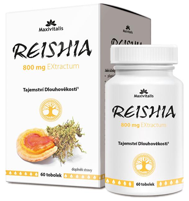 Maxivitalis REISHIA 800 mg EXtractum 60 tob.