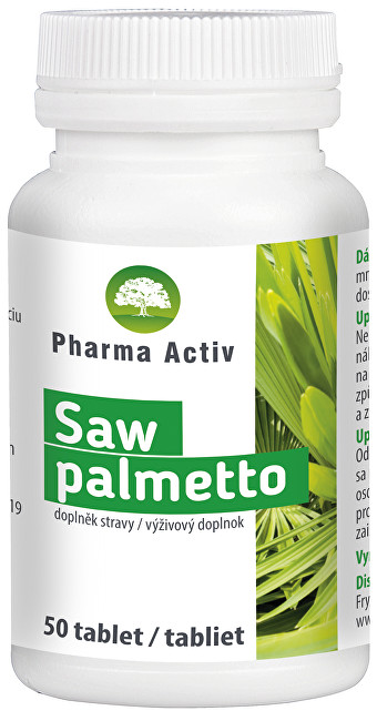 Pharma Activ Saw palmetto 50 tablet