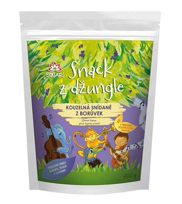 Snack z džungle - Kouzelná snídaně z borůvek 300 g