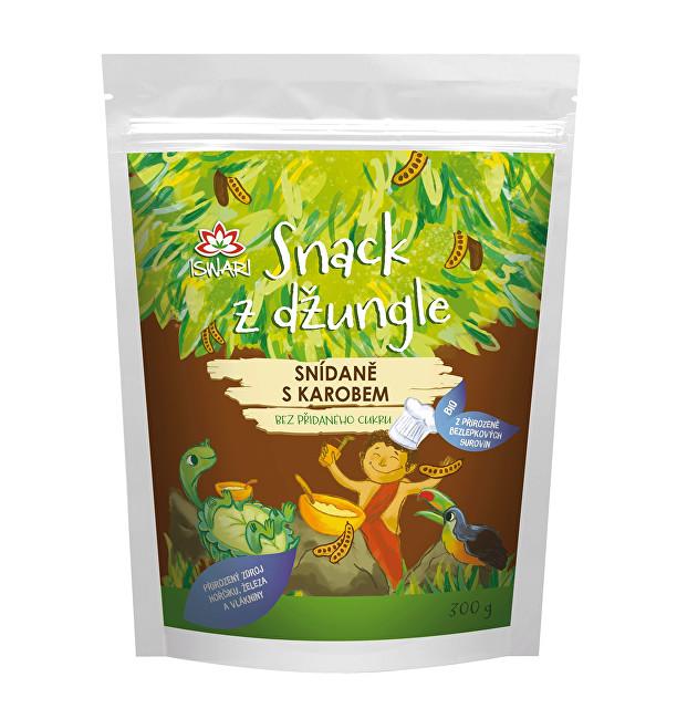 BIO Snack z džungle - Snídaně s karobem 300 g