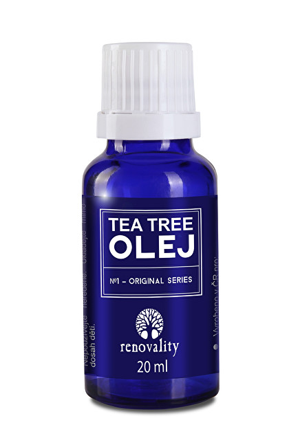Renovality Tea Tree olej s kapátkem 20ml