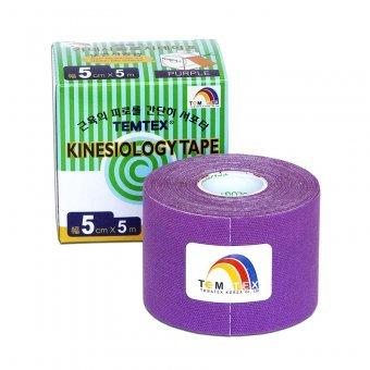 Zobrazit detail výrobku TEMTEX Tejp. TEMTEX kinesio tape 5 cm x 5 m Fialová