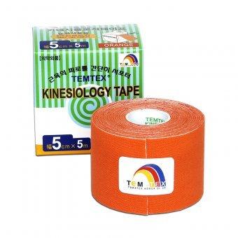 Zobrazit detail výrobku TEMTEX Tejp. TEMTEX kinesio tape 5 cm x 5 m Oranžová