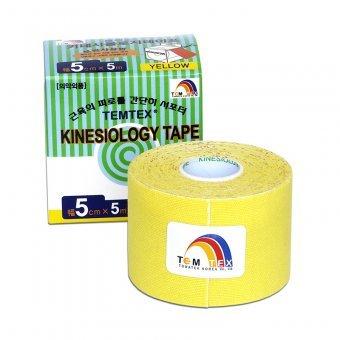 Zobrazit detail výrobku TEMTEX Tejp. TEMTEX kinesio tape 5 cm x 5 m Žlutá