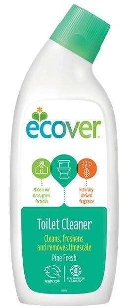 Tekutý čistící prostředek na WC s vůní borovice a máty 750 ml