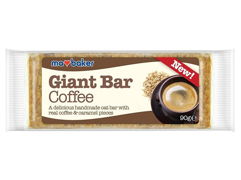 Ma Baker Tyčinka ovesná Giant bar Obří Kávová Coffee 90g