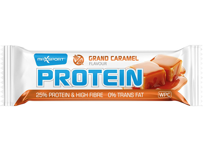 Zobrazit detail výrobku Max sport Tyčinka proteinová protein caramel 60 g