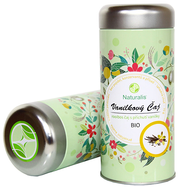 Zobrazit detail výrobku Naturalis Vanilkový čaj Naturalis BIO 70 g