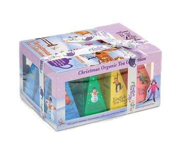 Zobrazit detail výrobku English Tea Shop Vánoční sada 12 pyramidových sáčků - Ozdoby Lyžaři a sáňkaři