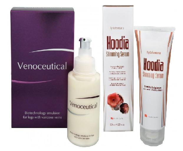 Zobrazit detail výrobku Herb Pharma Venoceutical - biotechnologická emulze na křečové žíly 125 ml + Hoodia slimming serum 120 ml