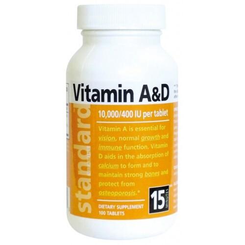 Zobrazit detail výrobku Natural SK Vitamín A/D 10 000/400 IU 100 tablet
