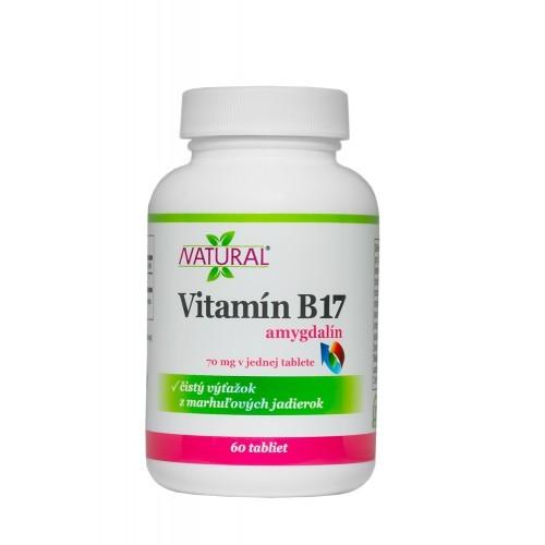 Vitamín B17 Amygdalin 70 mg 60 tablet