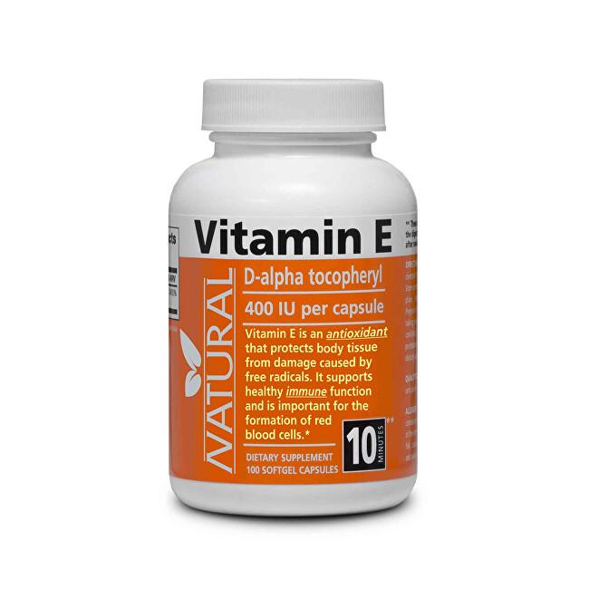 Zobrazit detail výrobku Natural SK Vitamín E 400 IU přírodní 100 kapslí