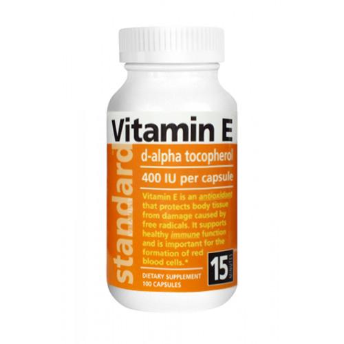 Natural SK Vitamín E 400 IU přírodní 100 kapslí
