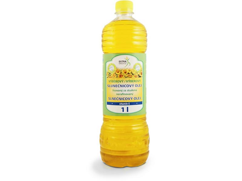 Zobrazit detail výrobku Extra Olej Výběrový slunečnicový olej 1l plast min. trv. 21.11. 2018