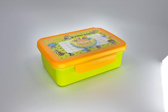 Zobrazit detail výrobku R&B Zdravá sváča komplet box zelená/žlutá