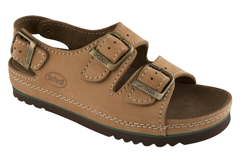 Zobrazit detail výrobku Scholl Zdravotní obuv AIR BAG BACK STRAP nub-U - hnědá vel. 36