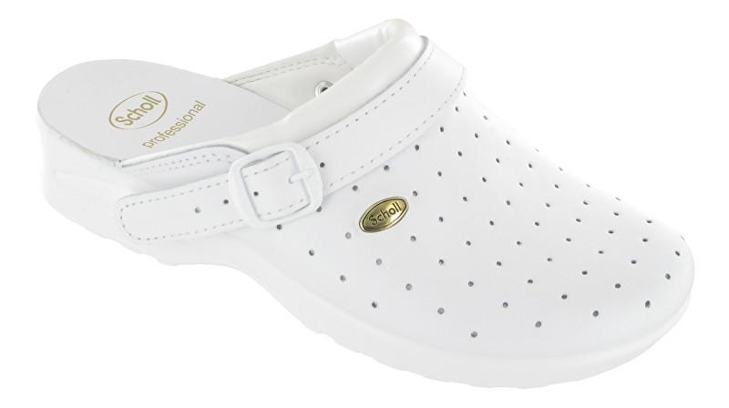 Zobrazit detail výrobku Scholl Zdravotní obuv CLOG RACY Byc-U - bílá - SLEVA - drobně ušpiněné podrážky
