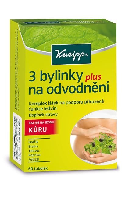 3 bylinky na odvodnění 60 tobolek