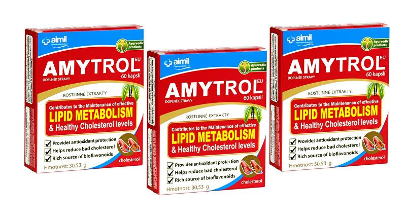 Zobrazit detail výrobku Aimil Pharmaceuticals AmytrolEU 60 kapslí 2+1 ZDARMA