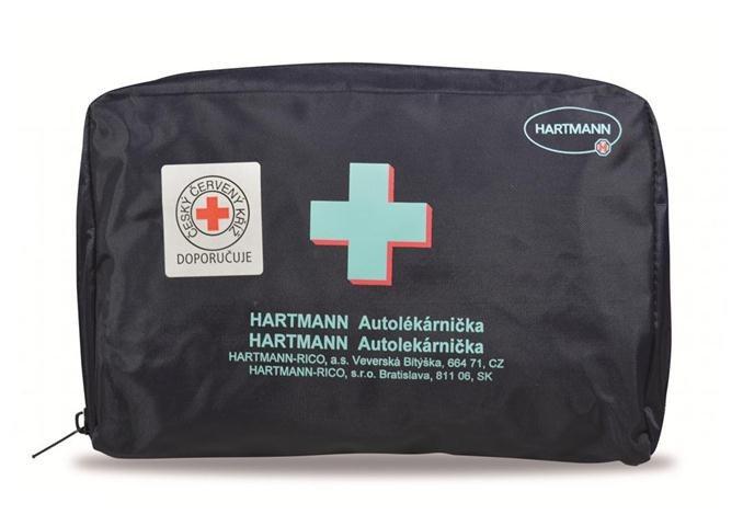 Hartmann Autolékárnička textilní - modrá