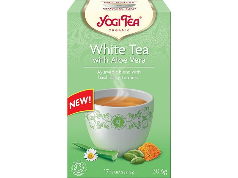 Zobrazit detail výrobku Yogi Tea Bio Bílý s Aloe Vera Yogi Tea 17 x 1,8 g
