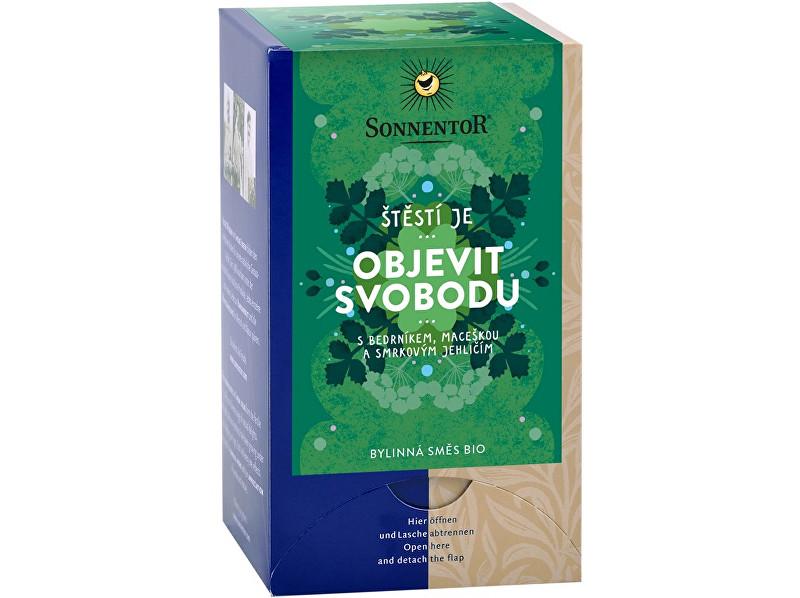 Zobrazit detail výrobku Sonnentor Bio bylinná směs s kořením Objevit svobodu 18x1,5g