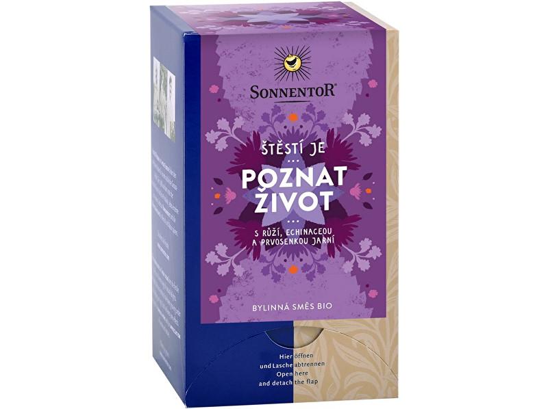Zobrazit detail výrobku Sonnentor Bio bylinná směs s kořením Poznat život 18x1,5g