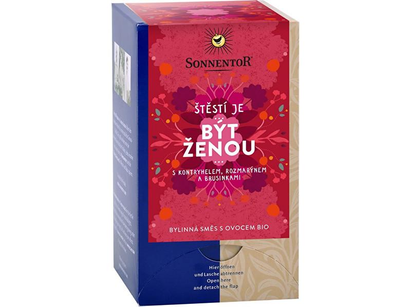 Zobrazit detail výrobku Sonnentor Bio bylinná směs s ovocem Být ženou 18x1,7g
