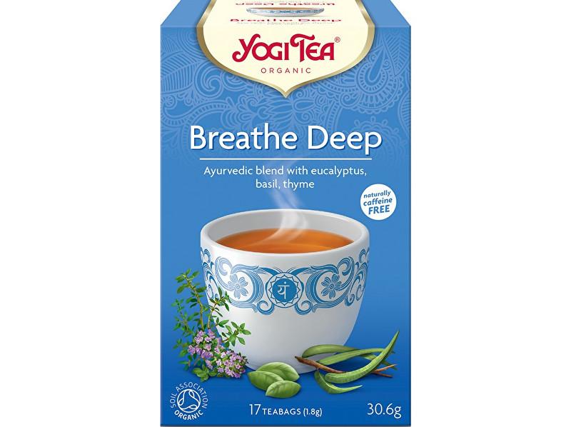 Zobrazit detail výrobku Yogi Tea Bio Dýchat zhluboka Yogi Tea 17 x 1,8 g