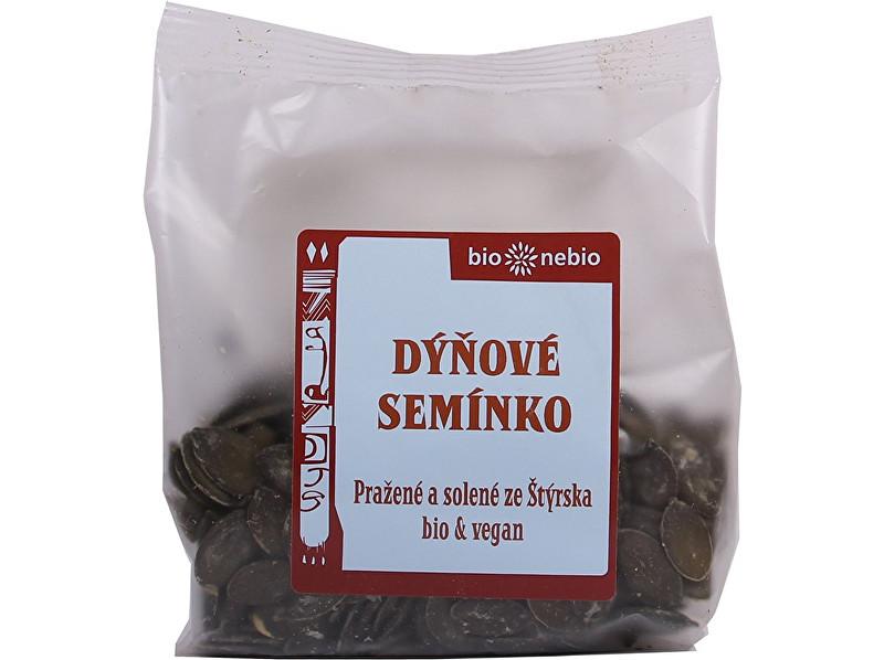 Bio nebio s. r. o. Bio dýňová semínka pražená solená 100 g