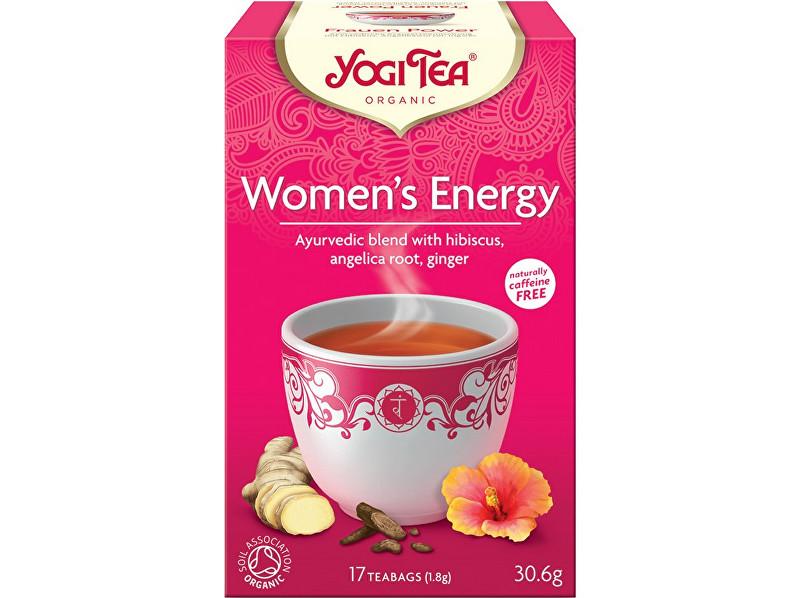 Zobrazit detail výrobku Yogi Tea Bio Energie ženy Yogi Tea 17 x 1,8 g