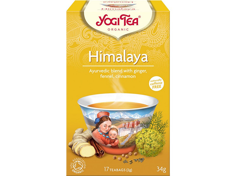 Zobrazit detail výrobku Yogi Tea Bio Himalaya Yogi Tea 17 x 2 g