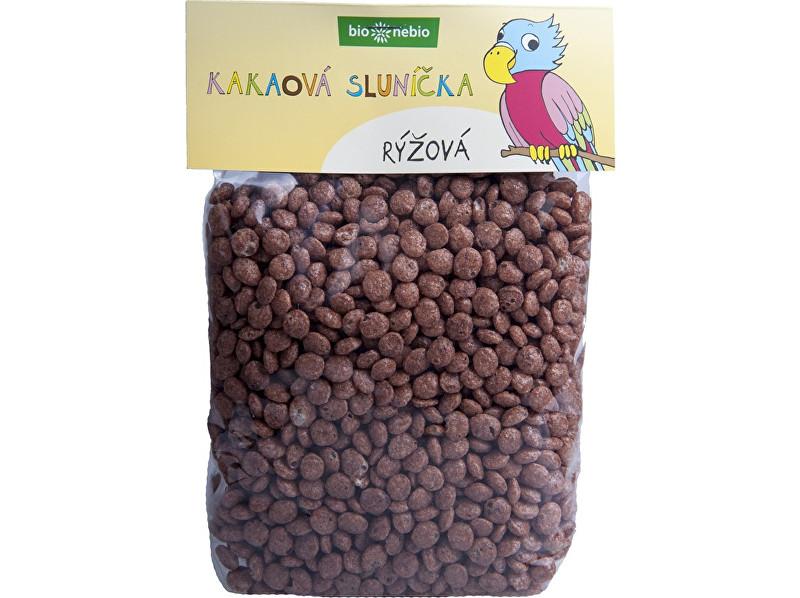 Bio nebio s. r. o. Bio kakaová sluníčka rýžová 200 g
