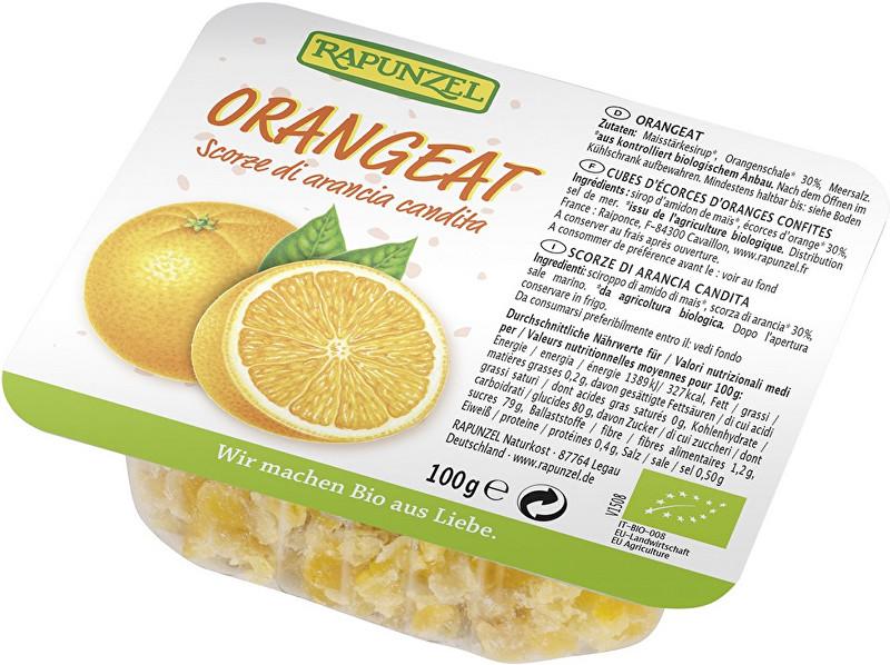 Zobrazit detail výrobku Rapunzel Bio kandovaná pomerančová kůra RAPUNZEL 100g