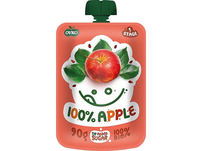 Zobrazit detail výrobku OVKO Bio kapsička 100% jablko OVKO 90g