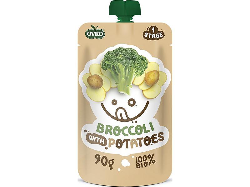 OVKO Bio kapsička brokolice s bramborami OVKO 90g